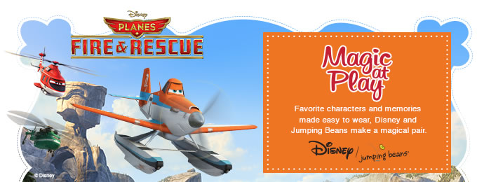 Introducing Kohl's Planes: Fire & Rescue Collection 2014