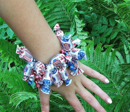 Fourth of July Candy Bracelet