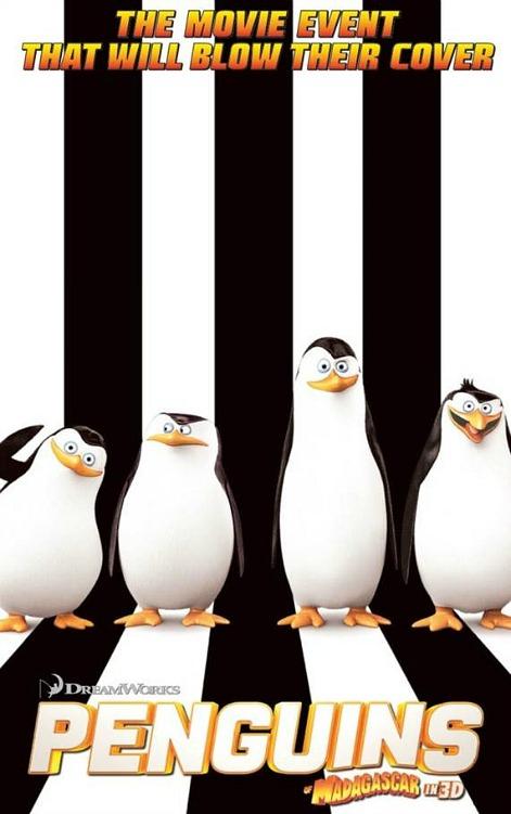 Penguins of Madagascar in 3D