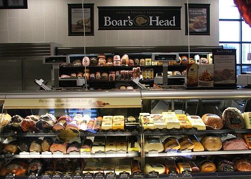 Birmingham Kroger Boars Head Display