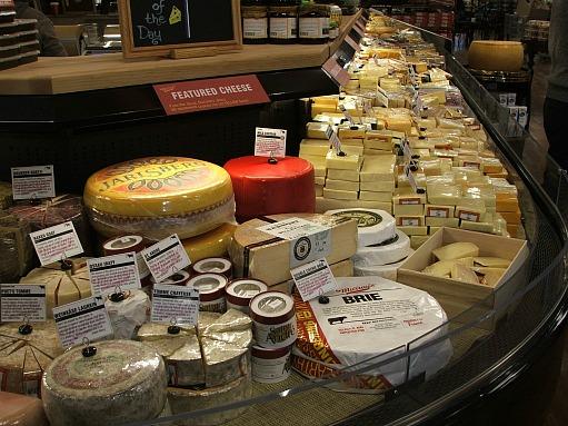 Birmingham Kroger Cheese Display