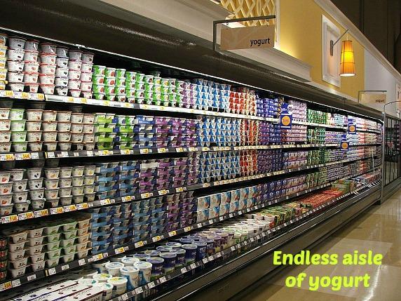 Birmingham Kroger Yogurt Aisle