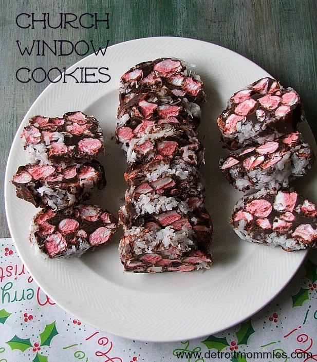 Church Windows - Peppermint and Dark Chocolate