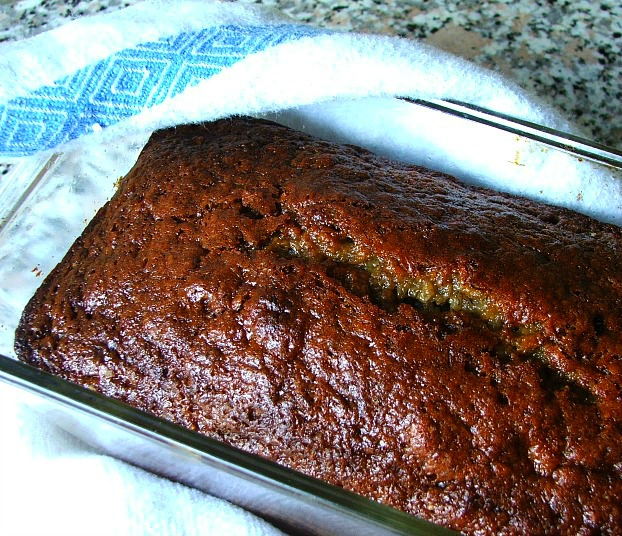 Easy_Banana_Bread_Cooling #TasteTheMiracle