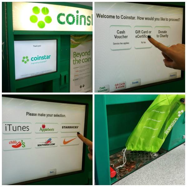 coinstar collage