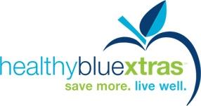 healthy blue extra logo