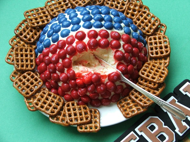 Skittles Cheesecake Ball Scoop