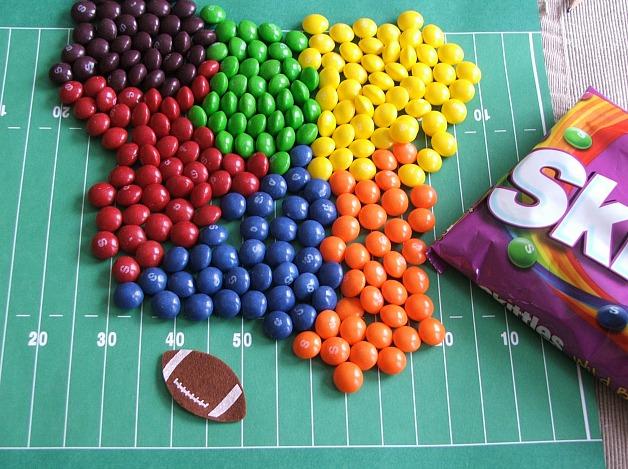 Skittles Rainbow White Chocolate Cheesecake