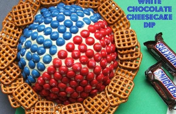 Big Game Sweet Treat – Skittles® White Chocolate Cheesecake Dip