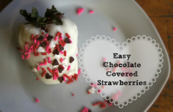 Easy Chocolate Dipped Strawberries Recipe