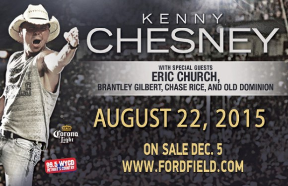Kenny Chesney Tickets On Sale Now + Ticket Giveaway
