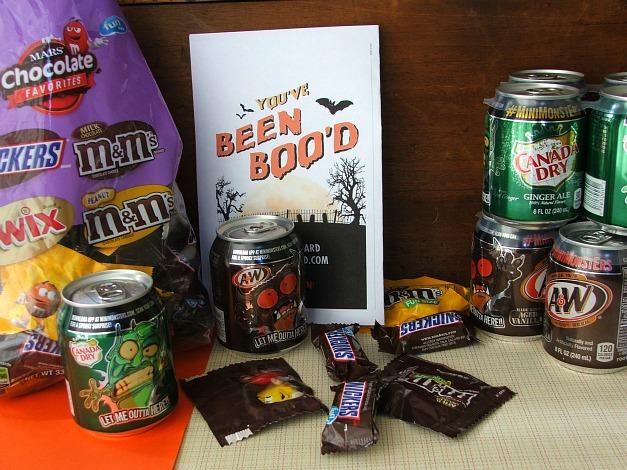 BOO'ing Candy #BOOItForward