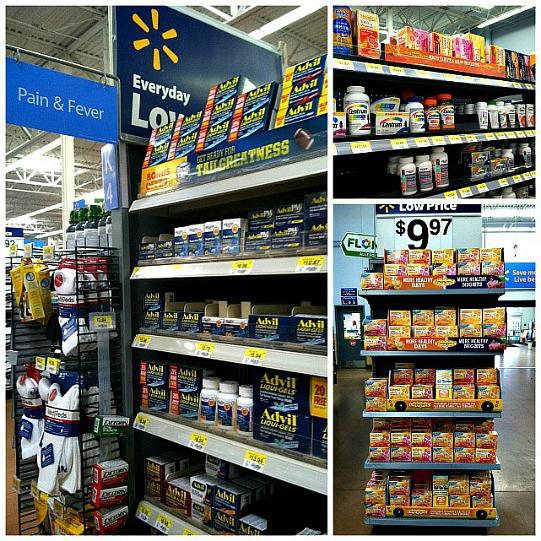 #BeHealthyforEveryPartofLife Pfizer Product Collage