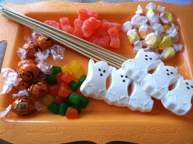 #MixInMonsterMash Candy Kabobs