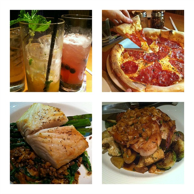 California Pizza Kitchen Next Chapter Menu