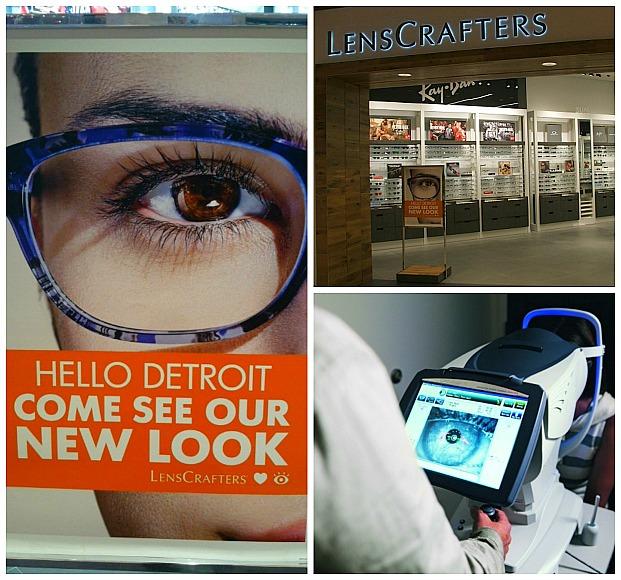 LensCrafter Hello Detroit Collage