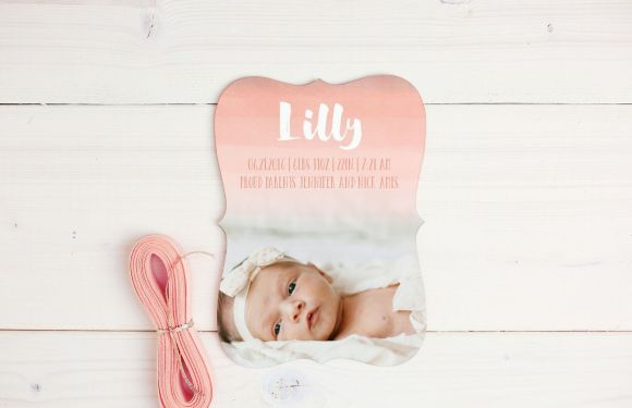 Celebrate New Baby and Special Occasions with Basic Invite