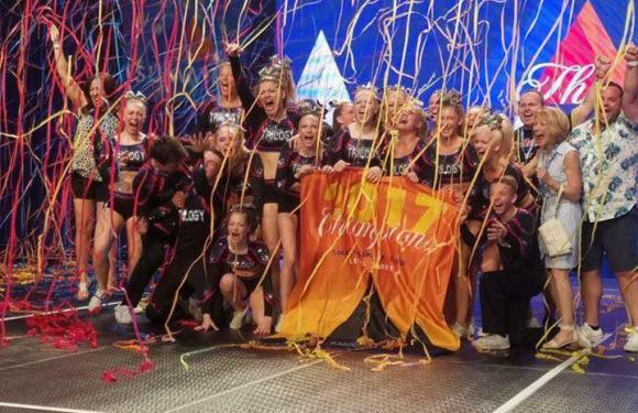 Trilogy Cheer Performs Flawless Routines; Wins Wildcard Division and Summit Championship