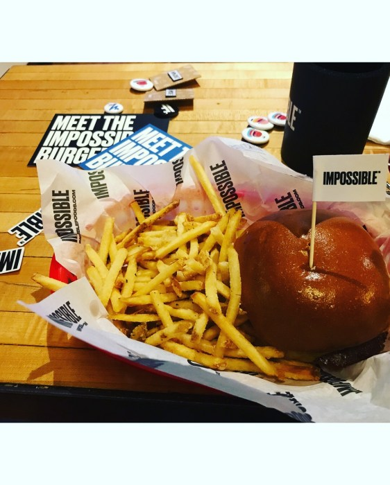 Detroit Mommies Impossible Burger Food in Detroit