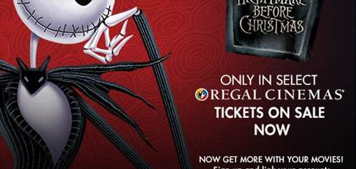 The Nightmare Before Christmas - Returns to Regal Cinemas this Halloween Weekend