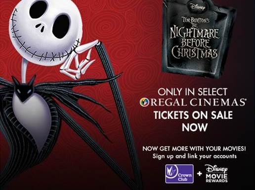 The Nightmare Before Christmas Returns to Regal Cinemas Halloween Weekend