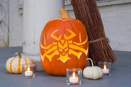 "THOR: RAGNAROK – ""Hela-ween"" DIY Pumpkin & Headdress Designs Now Available!"