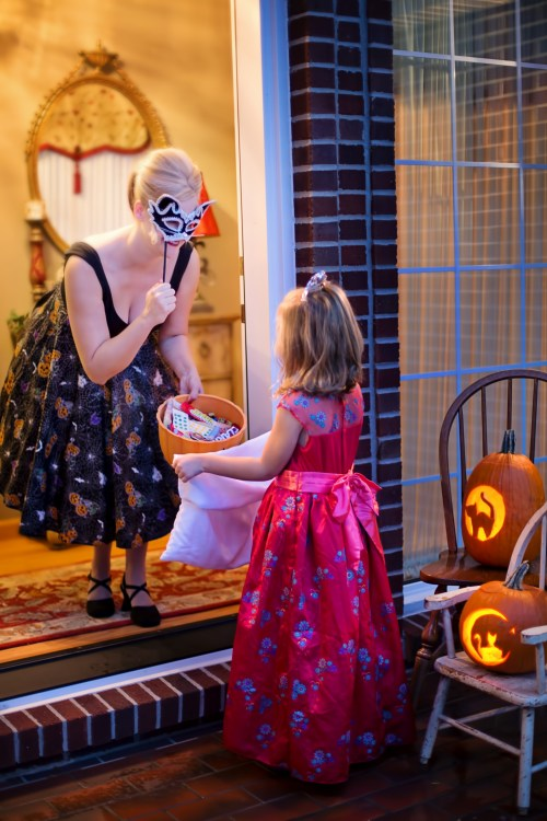 Trick or Treating in Michigan