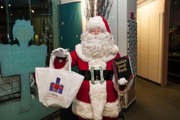 GMRENCEN Santa at Holiday Headquarters