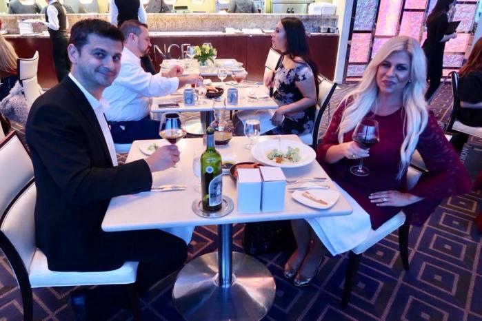 Shannon and Zoran Lazovski at Iridescence