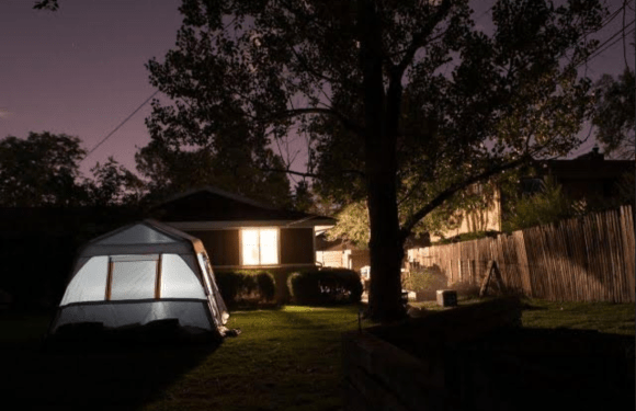 4 Tips for Camping in Your Own Backyard