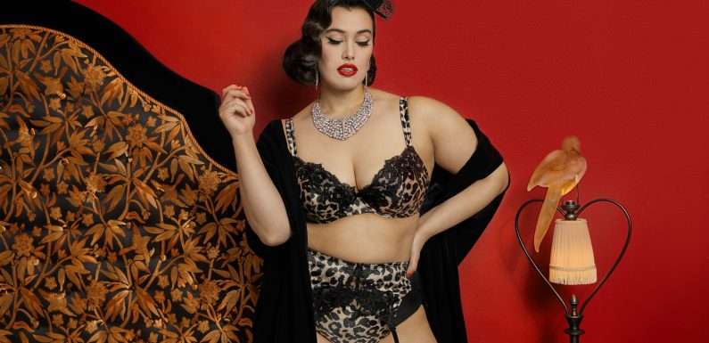 Burlesque Star Dita Von Teese Launches Size-Inclusive Lingerie Collection