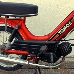 1991 Red-Orange Tomos Bullet A3 (SOLD)