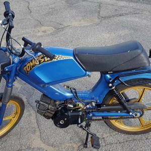 2002 Blue Tomos Targa LX (SOLD)