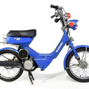 1985 Suzuki FA50 Shuttle blue kickstart noped (SOLD)