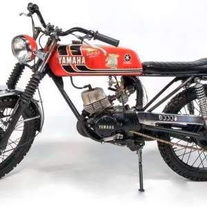 1973 Yamaha RD60 Big Bore Custom Motorcycle (SOLD)