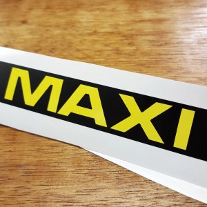 NEW Reproduction Puch Maxi side cover decals