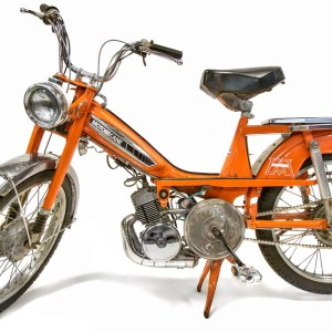 1977 Orange Motobecane 50VL with full motor rebuild and new variator (SOLD)