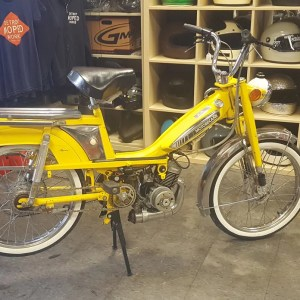 1977 Yellow Motobecane Mobylette 50V (SOLD)
