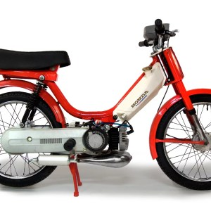 Custom 1980 Red Honda Hobbit PA50-I (SOLD)