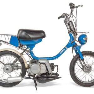 1984 Blue Yamaha QT50 Yamahopper (SOLD)