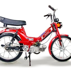 1986 Candy Apple Red Puch Maxi (SOLD)
