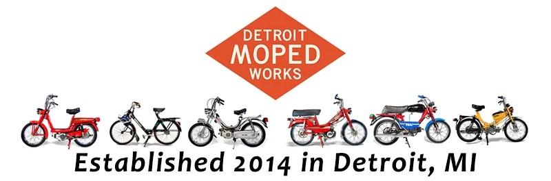 Detroit Moped Works Established 2014 in Detroit Michigan