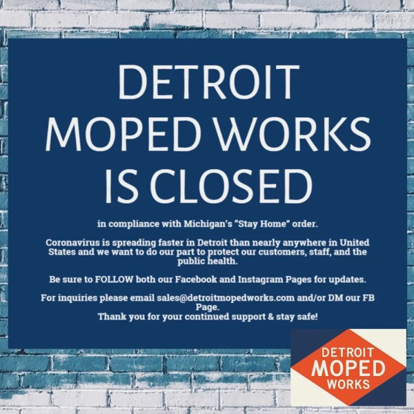 Detroit Moped Works: CLOSED
