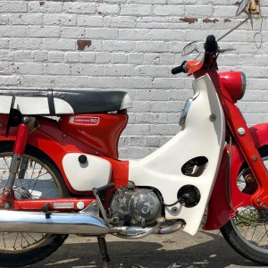 1969 Honda CM91 Super Cub from private collection – as is (SOLD)