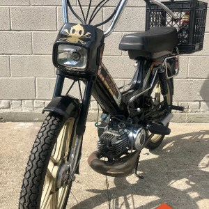 Rare 1986 Puch Maxi Sport LS2 from private collection – as is