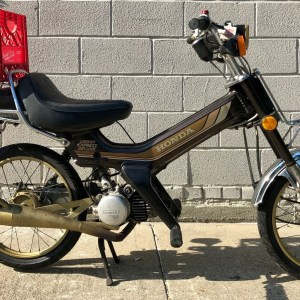 FASTEST GOLD Honda Urban Express Deluxe from private collection – as is