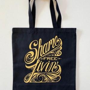"Kita ""Shame Free Livin"" tote bag"
