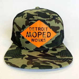 Detroit Moped Works Snap Back Logo Hat