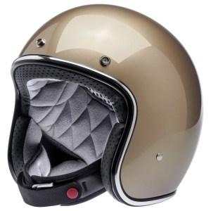 Biltwell Bonanza Metallic Champagne Helmet
