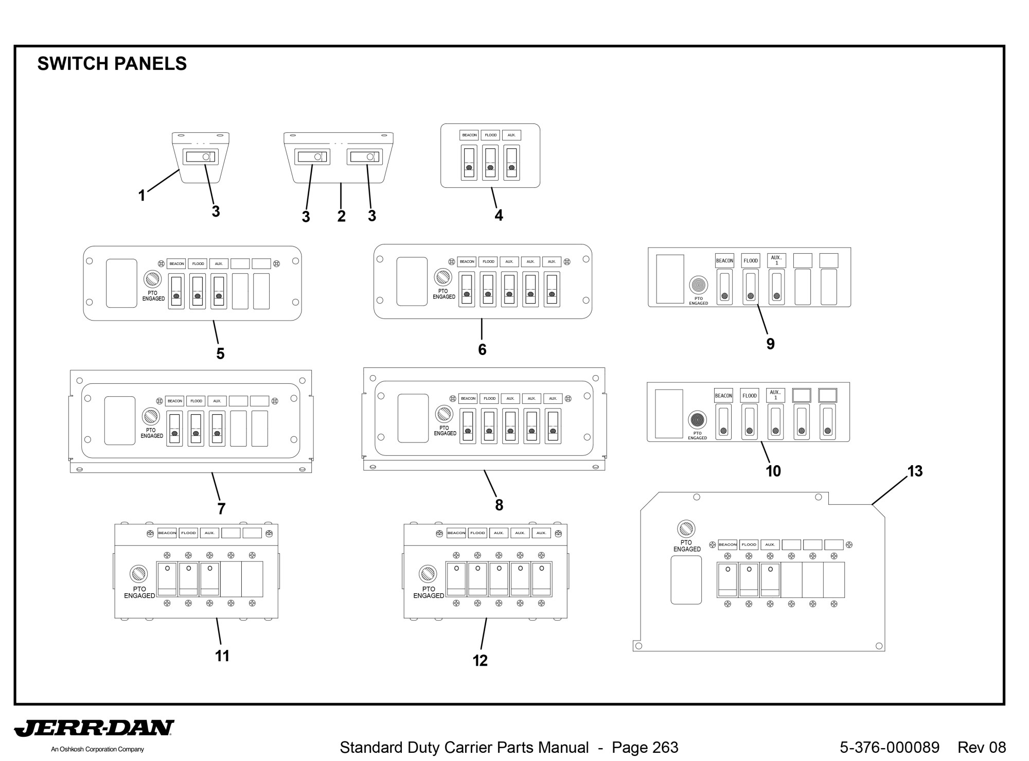 hight resolution of jerr dan control relay wiring diagram wiring diagrams hydraulic cylinder parts diagram jerr dan switch jerr